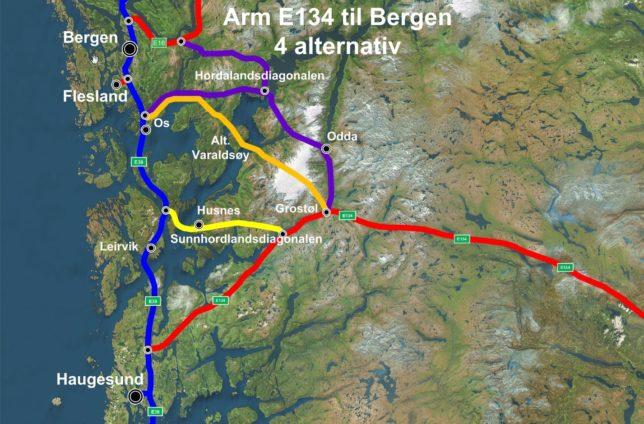 Arm til Bergen